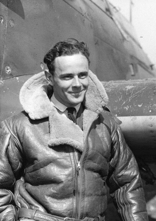 Pilotka skórzana RAF z okresu drugiej wojny światowej